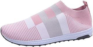 ORANDESIGNE Chaussures de Sport Femme Basket Mode Multisports Compétition Trail Entraînement Course Running Sneakers Fitne...