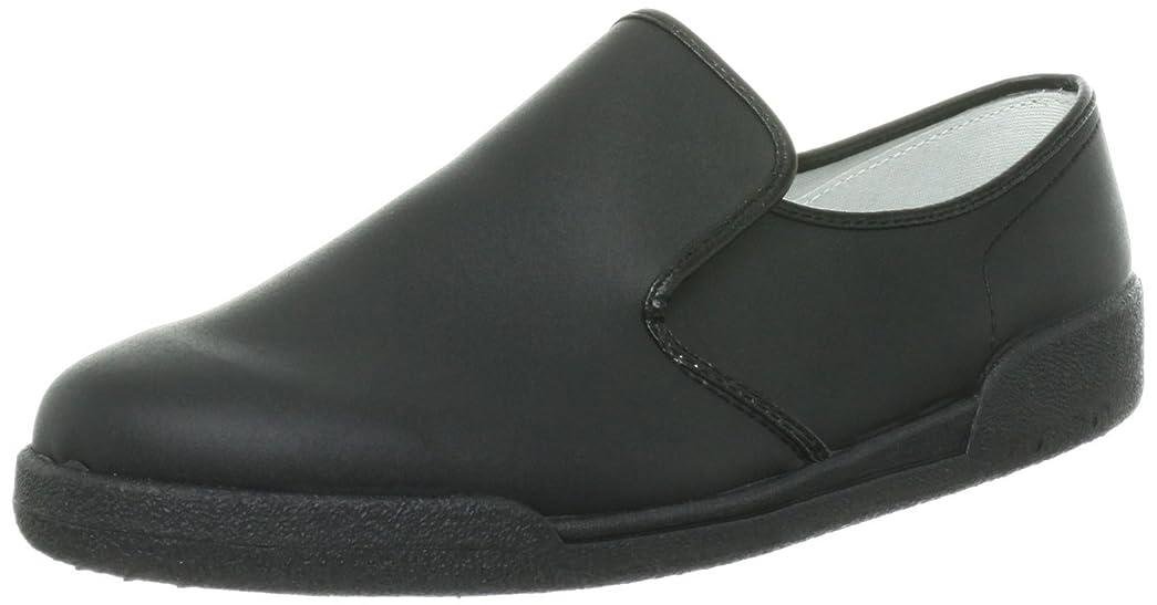 [アキレス] 厨房靴?コックシューズ ぐるめ君 ブラック