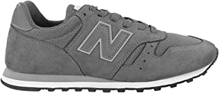 New Balance 373 Stone Grey Suede Trainers
