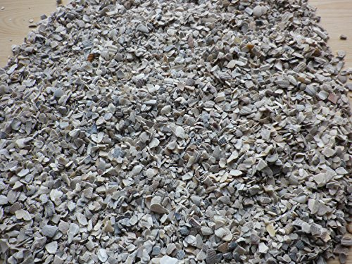 MFL Edderitz Austernschalen Geflügelfutter Muschelgrit Größe 2-10 mm 1-10 kg (10 kg)