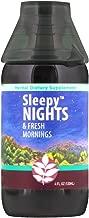WishGarden Herbs - Sleepy Nights, Organic Herbal Sleep Aid, Supports Healthy Sleep Cycles, Wake Up Fresh in The Morning (4 Ounce Jigger)