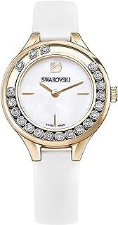 سواروفسكي ساعة رسمية نساء انالوج بعقارب جلد - 5242904
