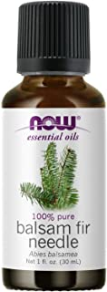 NOW Essential Oils, Balsam Fir Needle Oil, Woodsy Aromatherapy Scent, Steam Distilled, 100% Pure, Vegan, Child Resistant C...