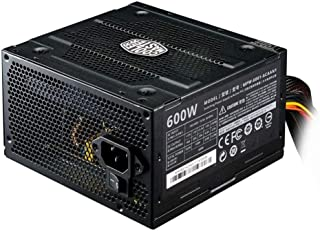 Fonte Cooler Master Elite V3 Full Range 600W (sem cabo de força), PFC Ativo