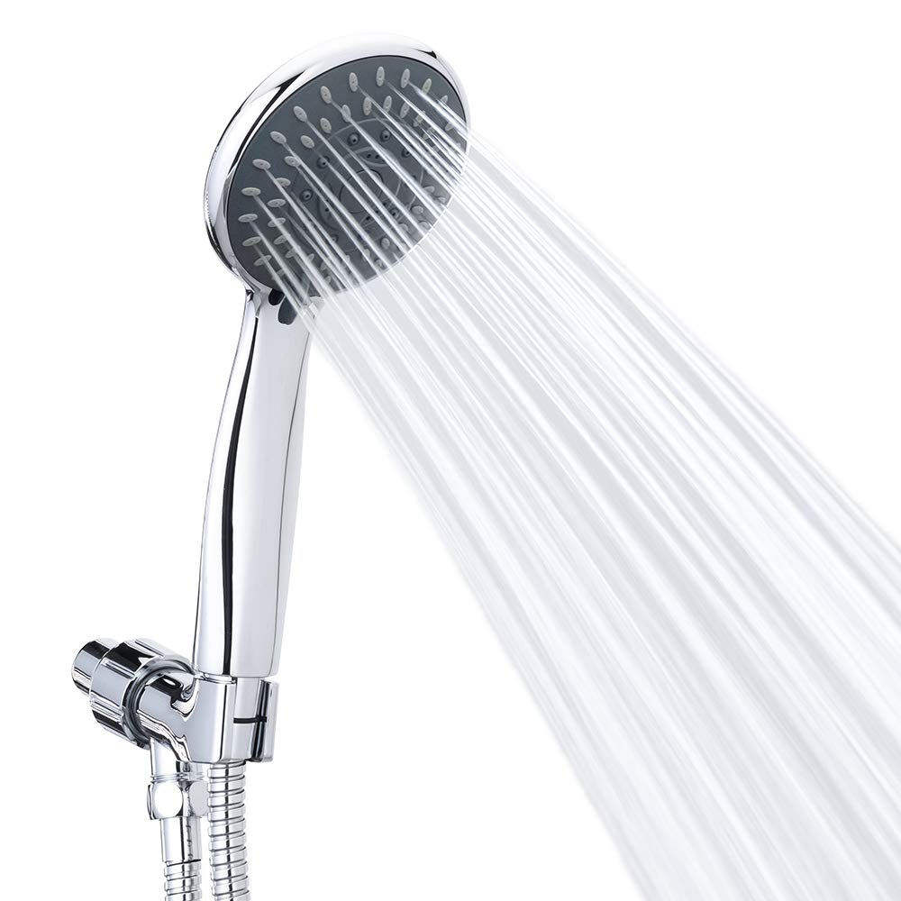 Handheld Pressure Detachable Showerhead Adjustable