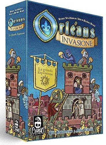 Cranio Creations - Orleans : Invasione Espansione Gioco da Tavolo Italiano