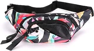 Hipiwe Bum Waist Bag for Women Water Resistance Sport Bum Bag Lightweight Travel Fanny Pack Sling Backpack with Adjustable Strap Hip Belt Pouch Bag for Running Hiking Cycling