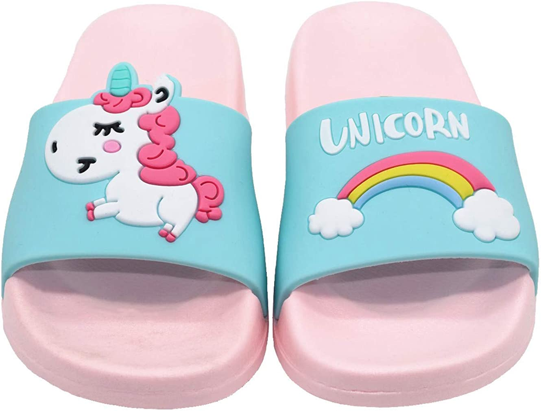 Pantofole da bagno con unicorno morbido