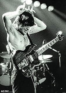 Póster AC/DC - Angus Young (59,5cm x 84cm) + 1 póster sorpresa de regalo