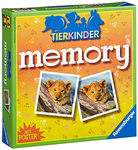 Ravensburger Kinderspiele 21275 - Tierkinder memory