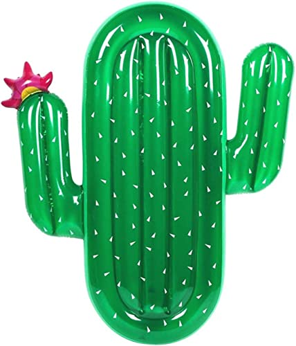 Venta en línea precio bajo descuento XCXDX Fila Flotante De Cactus Cactus Cactus verde, Juguete Inflable para Piscina, Tumbona De Agua, Cama Flotante para Adultos, 180 × 140 × 20 Cm  compra limitada