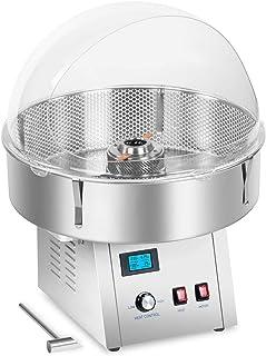 Royal Catering RCZK-SET4 Machine à Barbe à Papa Appareil Barbe a Papa Professionnel avec Filet et Coupole de Protection (...