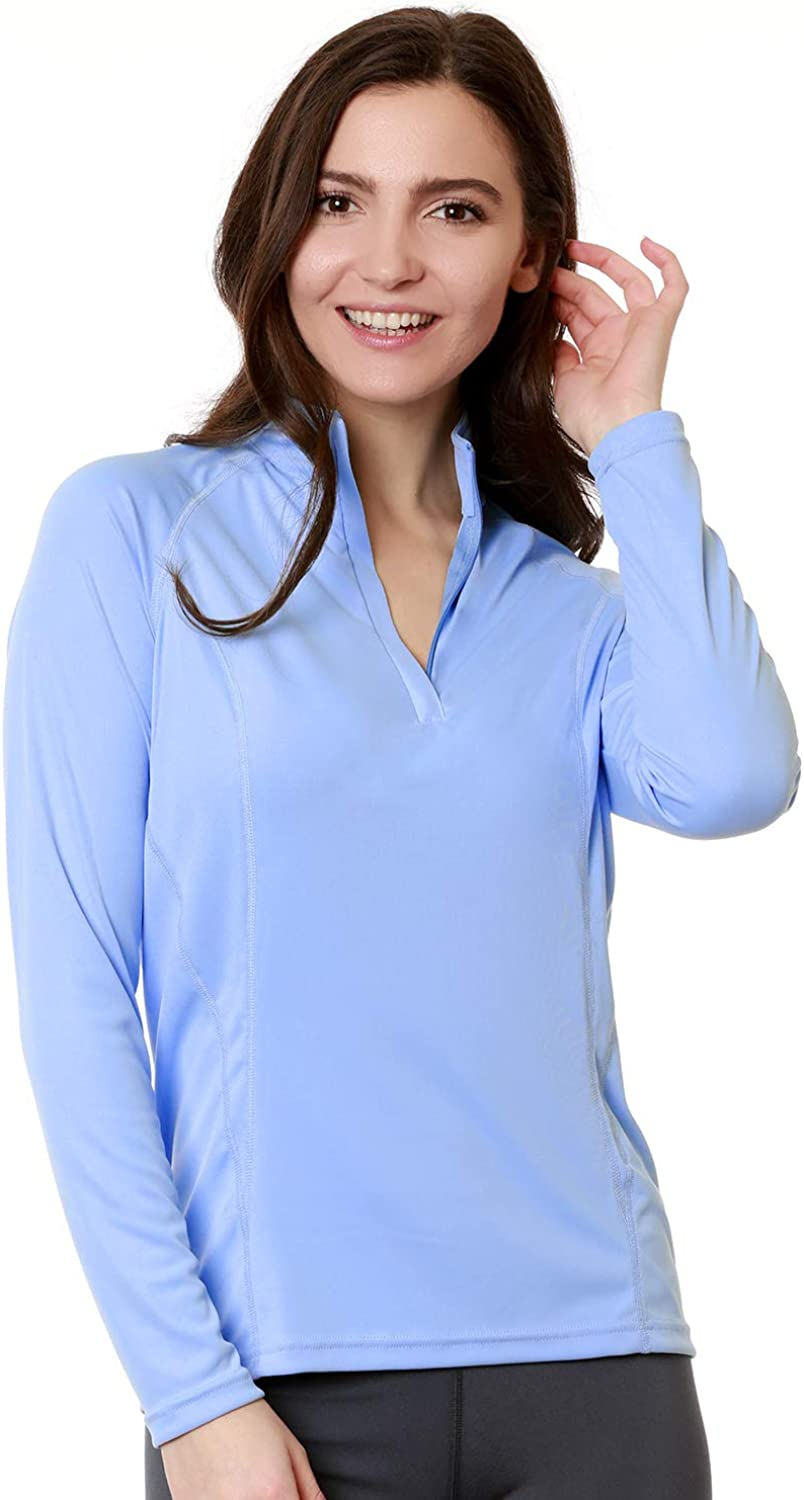 Nozone Sun Predective Equestrian Shirt  Long Sleeved Tuscany for Women  UPF 50