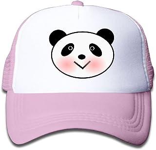 Lixinli Elephant an Panda Head Mesh Baseball Cap Kid Boys Girls Adjustable Golf Trucker Hat Pink
