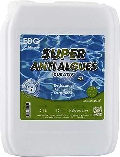 EDG Super Anti Algues Piscine - Bidon 5 litres - Effet Curatif by AQUALUX