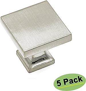 Best brushed nickel dresser knobs Reviews