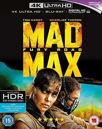 Mad Max: Fury Road [Blu-Ray] [Region B]