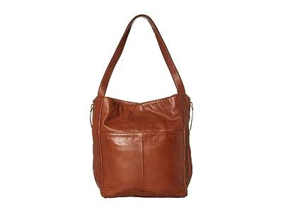 Lucky Brand Caro Tote (New Cognac) Handbags