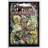 Iron Maiden Earlier Albums Púas de guitarra oficiales