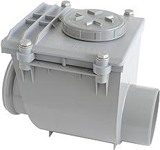 First plast nro110g Válvula antirretorno de PVC con O-Ring, Gris, Diámetro 110Mm
