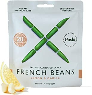 POSHI French Green Bean Vegetable Snack | 10 Pack | Keto, Vegan, Paleo, Non GMO, Low..