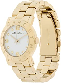 Marc by Marc Jacobs MBM3056 Ladies Gold IP Amy Watch