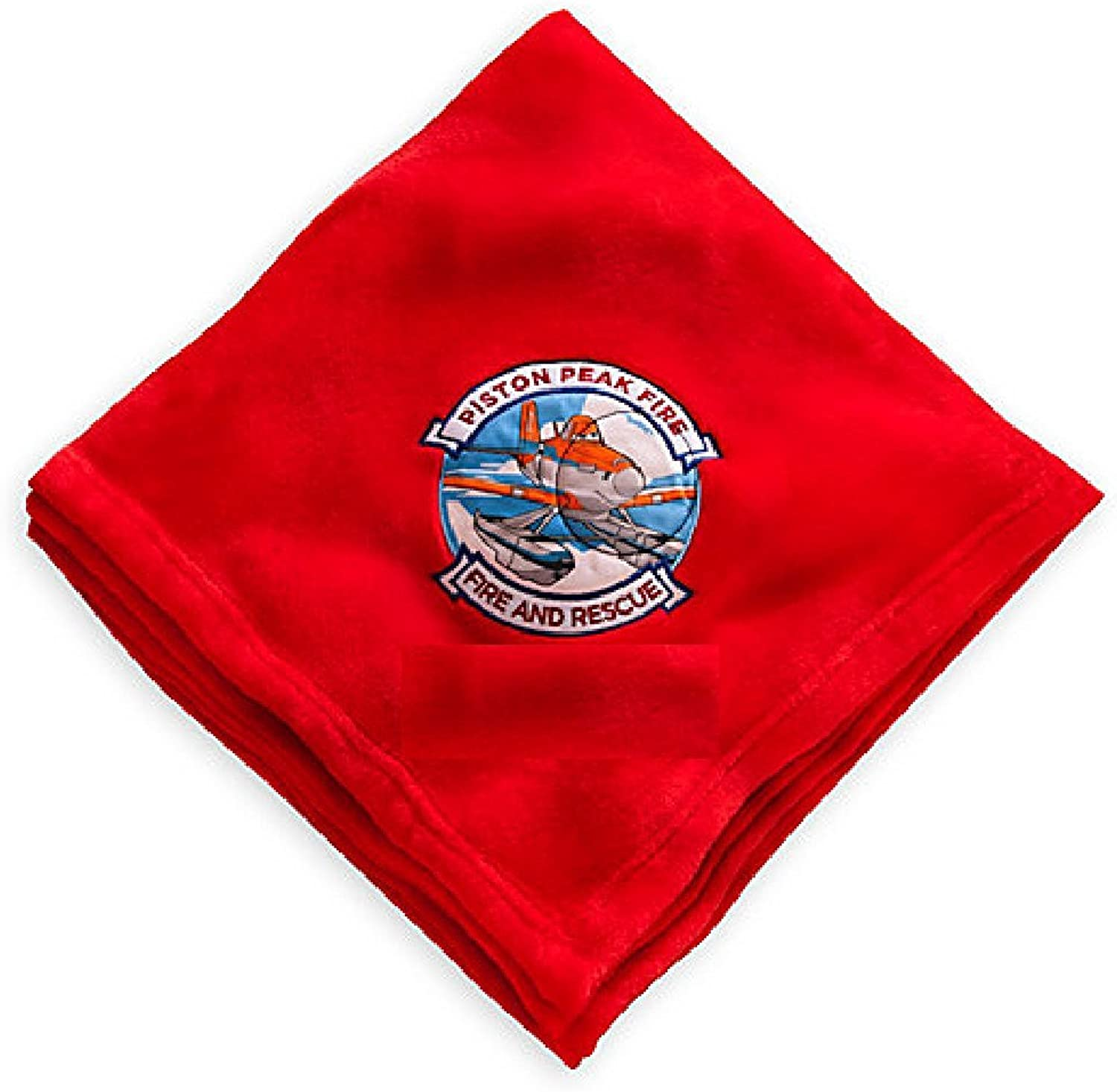 Disney Planes  Fire & Rescue Throw Blanket  Red  50 x 60