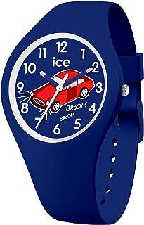 Ice-Watch - ICE fantasia Car - Montre bleue pour garçon avec bracelet en silicone