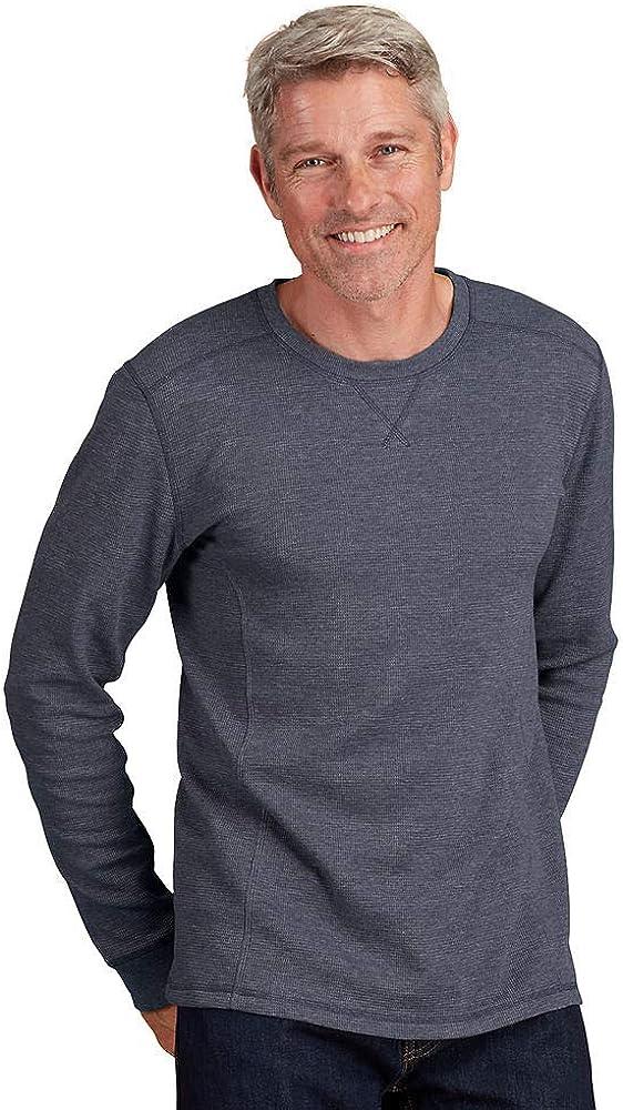 Mason Signature Men's Thermal Long-Sleeved Crew Shirt