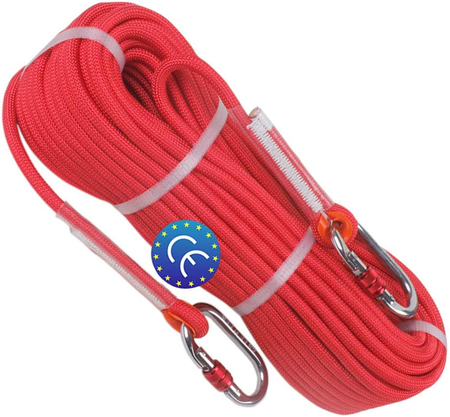 YYBT Felskletter-Rope, Outdoor Professional Climbing Cord Professional Cord Diameter 10,5mm Mutil-use Home Rope Escape Static Indoor Rope 10m 20m 30m 40 m 50m B07NQCZZTL  Räumungsverkauf