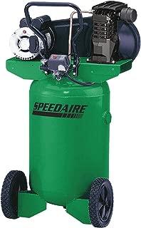 Speedaire 2.0 HP, 115/230VAC, 20 gal. Portable Electric Barrel Air Compressor, 135 psi 4TW29-1 Each