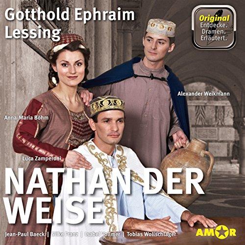 Nathan der Weise - Die wichtigsten Szenen im Original audiobook cover art