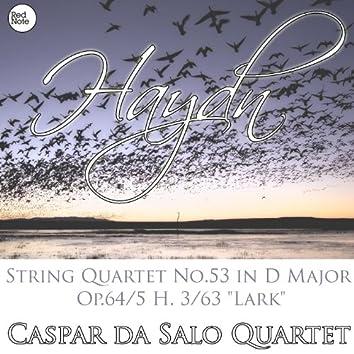"""Haydn: String Quartet No.53 in D Major Op.64/5 H. 3/63 """"Lark"""""""