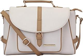 Lapis O Lupo Women's Handbag (LLHB0030OW_Off-White)