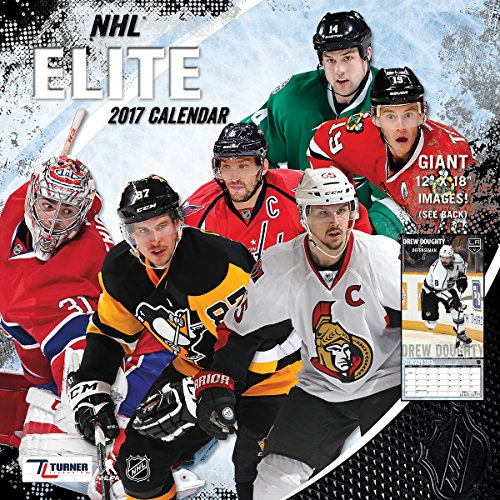 "Turner Licensing Sport 2017 NHL Elite Wall Calendar, 12""X12"" (17998011972)"