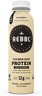 REBBL Super Herb Protein Elixirs, Cold Brew Coffee