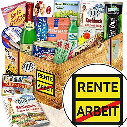 Rente + Geschenk für Rentner + DDR Ostpaket mit Spezialitäten