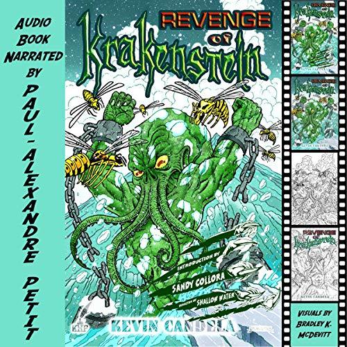Revenge of Krakenstein audiobook cover art