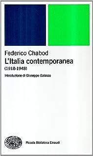 L'Italia contemporanea (1918-1948)