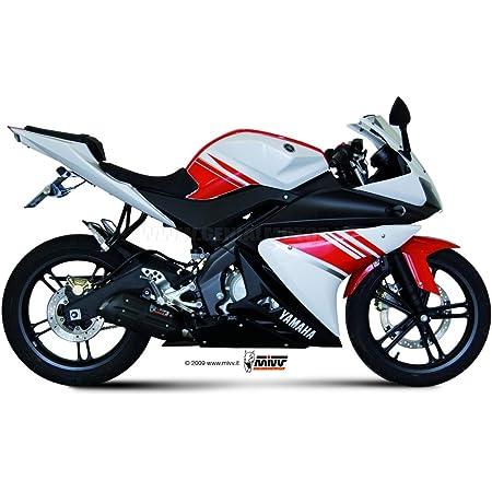 Mivv Y 045 Lxb Yamaha Mt 07 2014 Komplettanlagen 2x1 Gp Steel Black Auto