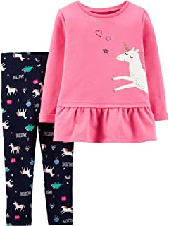 Carter's Baby Girls' 2 Pc Playwear Sets 239g294