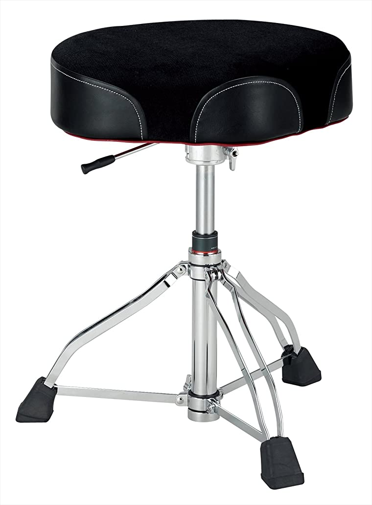 Tama 1st Chair Ergo-Rider Drum Throne Hydraulix Cloth Top Black