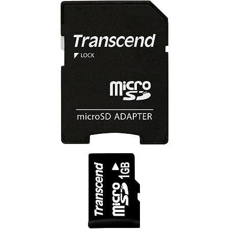 Transcend Micro Sd 1gb Speicherkarte Mit Sd Adapter Computer Zubehör