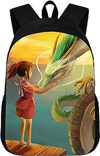 CJIUDI School Backpack,Prints School Bag,Lightweight Backpack,Casual Rucksack,Anime Schoolbag - C,Waterproof Daypack,for College/School/Girls/Boys