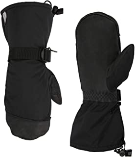 OZERO -40 ℉ Winter Gloves Cold Proof Snow Work Ski Mittens with 3M Thinsulate Insulated Layers Thermal Cotton and Thick Cowhide Leather Palm - Waterproof Snowproof Windproof for Men and Women