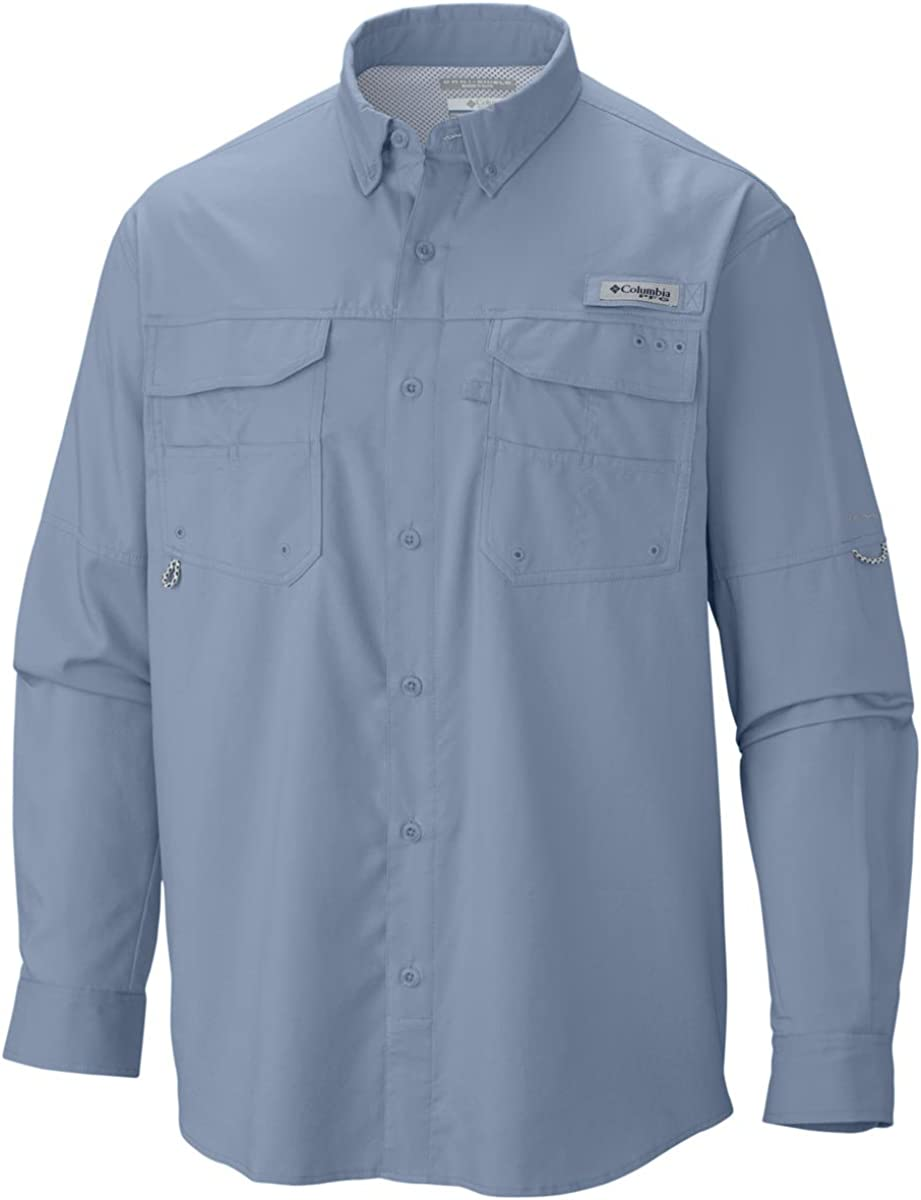 Columbia Men's Blood Fixed Today's only price for sale and Guts Woven Ls Shirt Iii