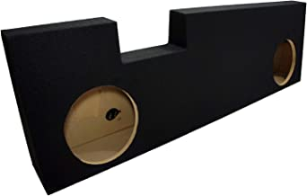 """Compatible with Ford F250 or F350 Super Crew Cab Truck 2001-2014 Dual 10"""" Subwoofer.."""