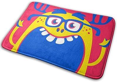 """Cartoon Funny Monster Doormat Front Door Mat Non Slip Door Rug Shoes Scraper Rug Carpet - 23.6"""" x 15.8"""""""