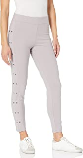 Yummie Compact Cotton Ankle Legging With Grommets Sockshosiery