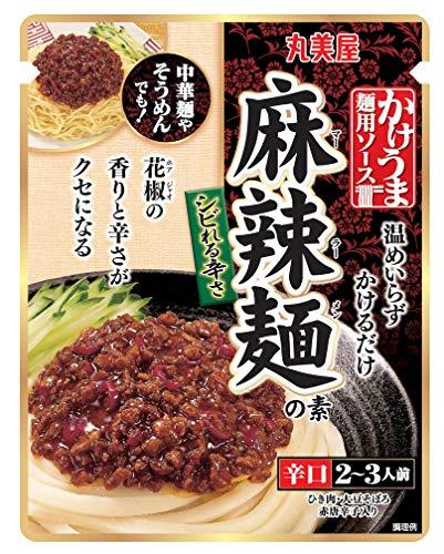 丸美屋食品工業 かけうま 麺用ソース (麻辣麺の素) 230g ×5袋